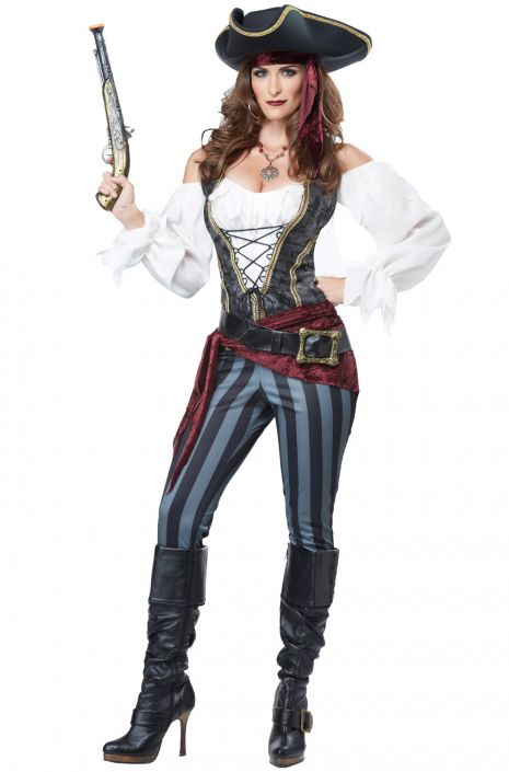 Buccaneer Adult Pirate Costume  sc 1 st  Outfit Ideas HQ & Sail the Seven Seas in These Pirate Costume Ideas - Outfit Ideas HQ