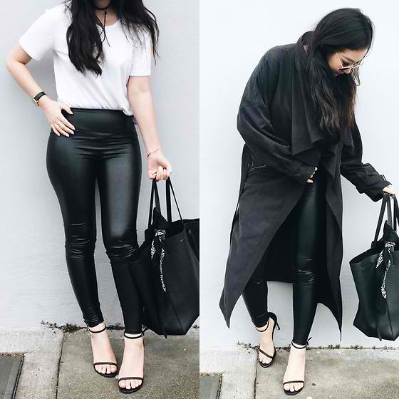 Styling Black Leggings with Pieces You Have Inside Your Wardrobe - Outfit Ideas HQ