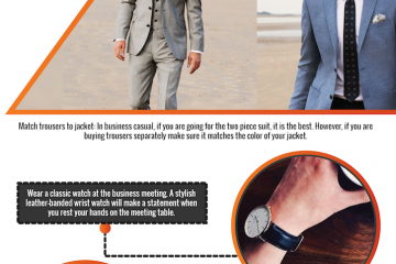 business professional for men infographic
