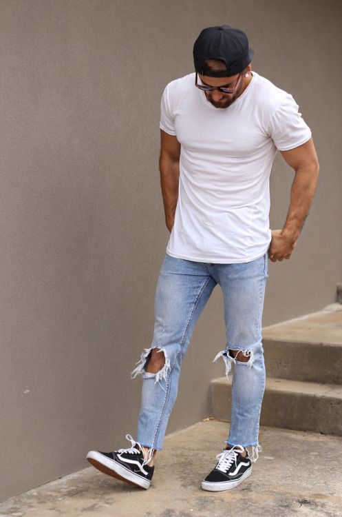 12 Mens Vans Shoe Outfits to Wear for Inspiration - Outfit Ideas HQ