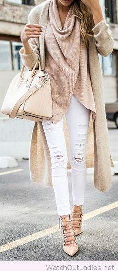 nude-pump-casual-outfit-idea-15