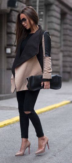 nude-pump-casual-outfit-idea-17