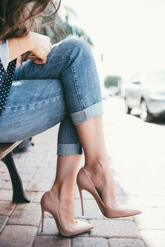 nude-pump-casual-outfit-idea-33