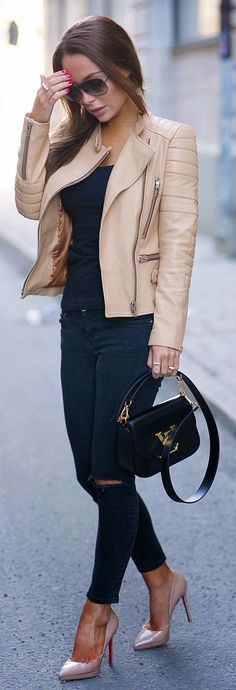 nude-pump-casual-outfit-idea-34