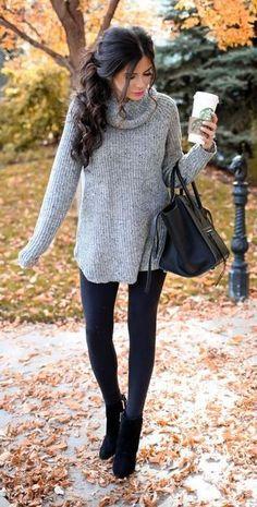thanksgiving-outfit-turtleneck-dress