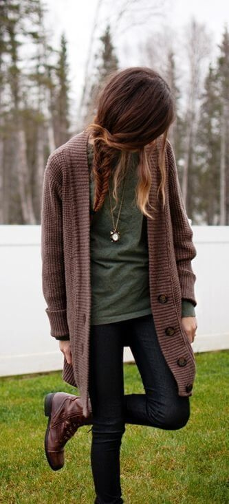 Cute Cardigan Outfit Ideas You Can Copy for Next Week - Outfit ...