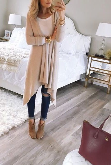 cute cardigan outfit ideas you can copy for next week