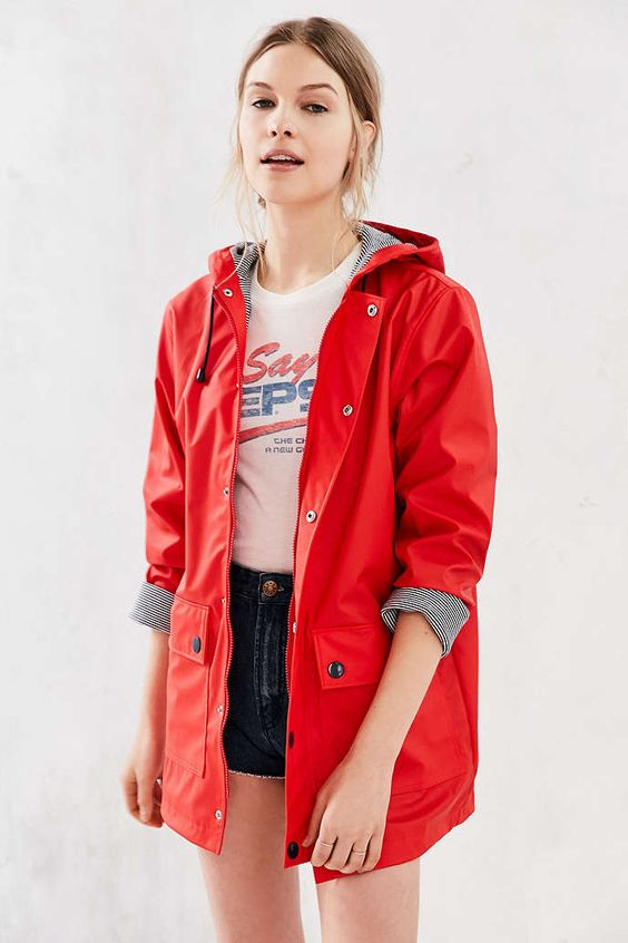 Trendy Ways To Wear A Rain Coat - Outfit Ideas HQ