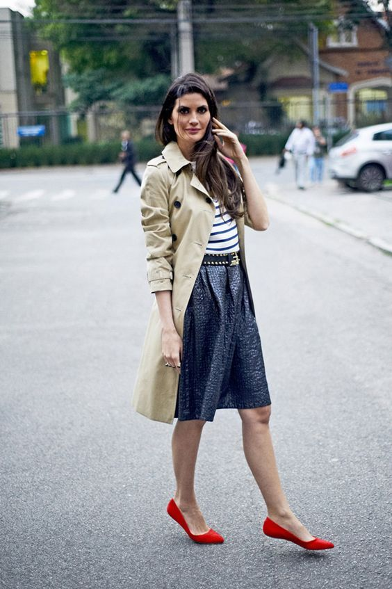 Chic Outfits to Wear with Trench Coat
