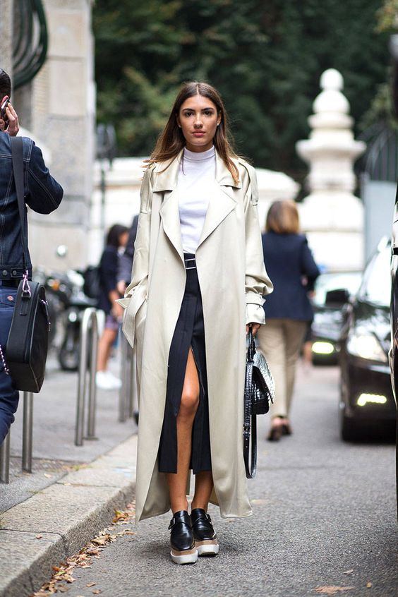 f62555e2870 Chic Outfits to Wear with Trench Coat - Outfit Ideas HQ