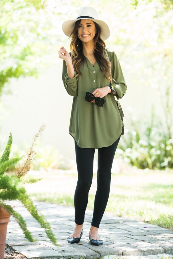 Casual and Dressy Tunic Tops for Everyday Wear - Outfit Ideas HQ