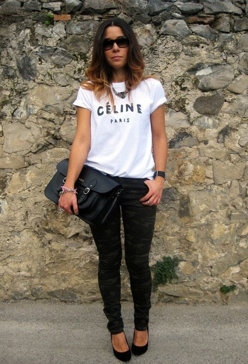 t-shirt women outfit ideas