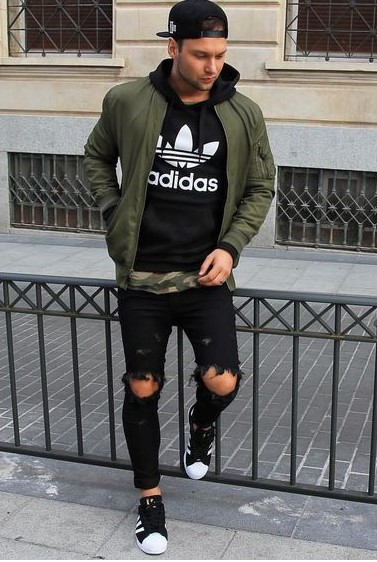 Men S Zip Up Hoodie Streetwear Mens Fashion