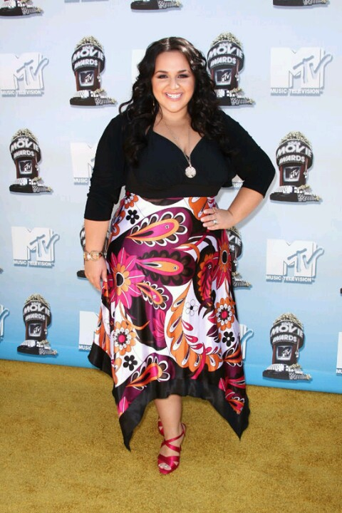 nikki blonsky plus size summer wear