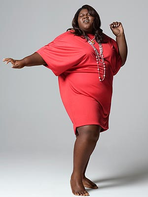 gabourey sidibe plus size summer wear