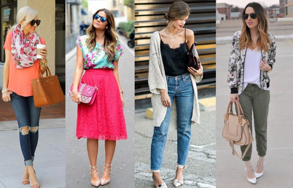 Cute outfits for the Spring Season for all occasions