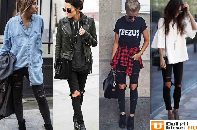 fc80374629c How to Better Wear Black Jeans  50+ Great Ideas - Outfit Ideas HQ