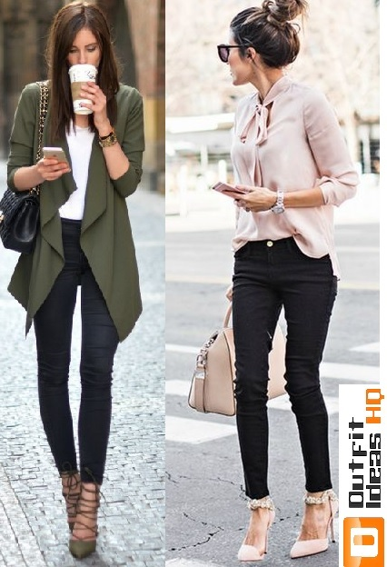 fb34d16f30d4 How to Better Wear Black Jeans  50+ Great Ideas - Outfit Ideas HQ