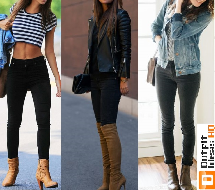 How to Better Wear Black Jeans 50+ Great Ideas - Outfit Ideas HQ