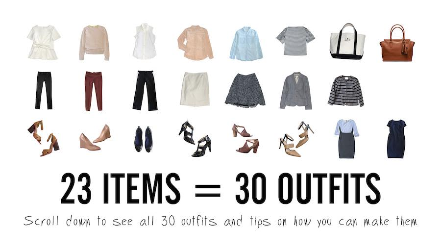 Capsule Wardrobe What You Need To Know Outfit Ideas Hq