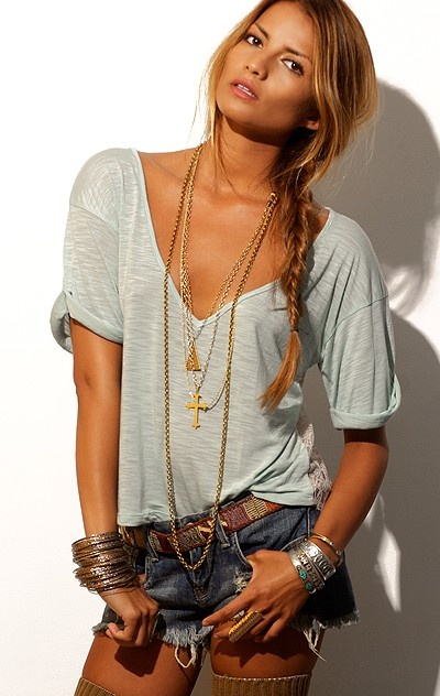 30 Days of Summer: Outfit Idea 7 - Country Style Look with ... Vintage Bohemian Style Clothing