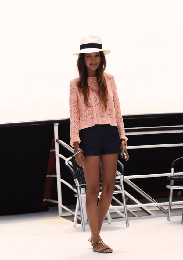 30 Days Of Summer Outfit Idea 18 Sun Fedora Hat