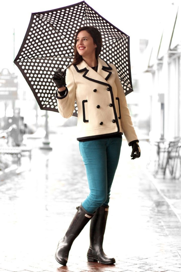 30 Super Cute Rainy Day Outfits You Will Love - Outfit Ideas HQ