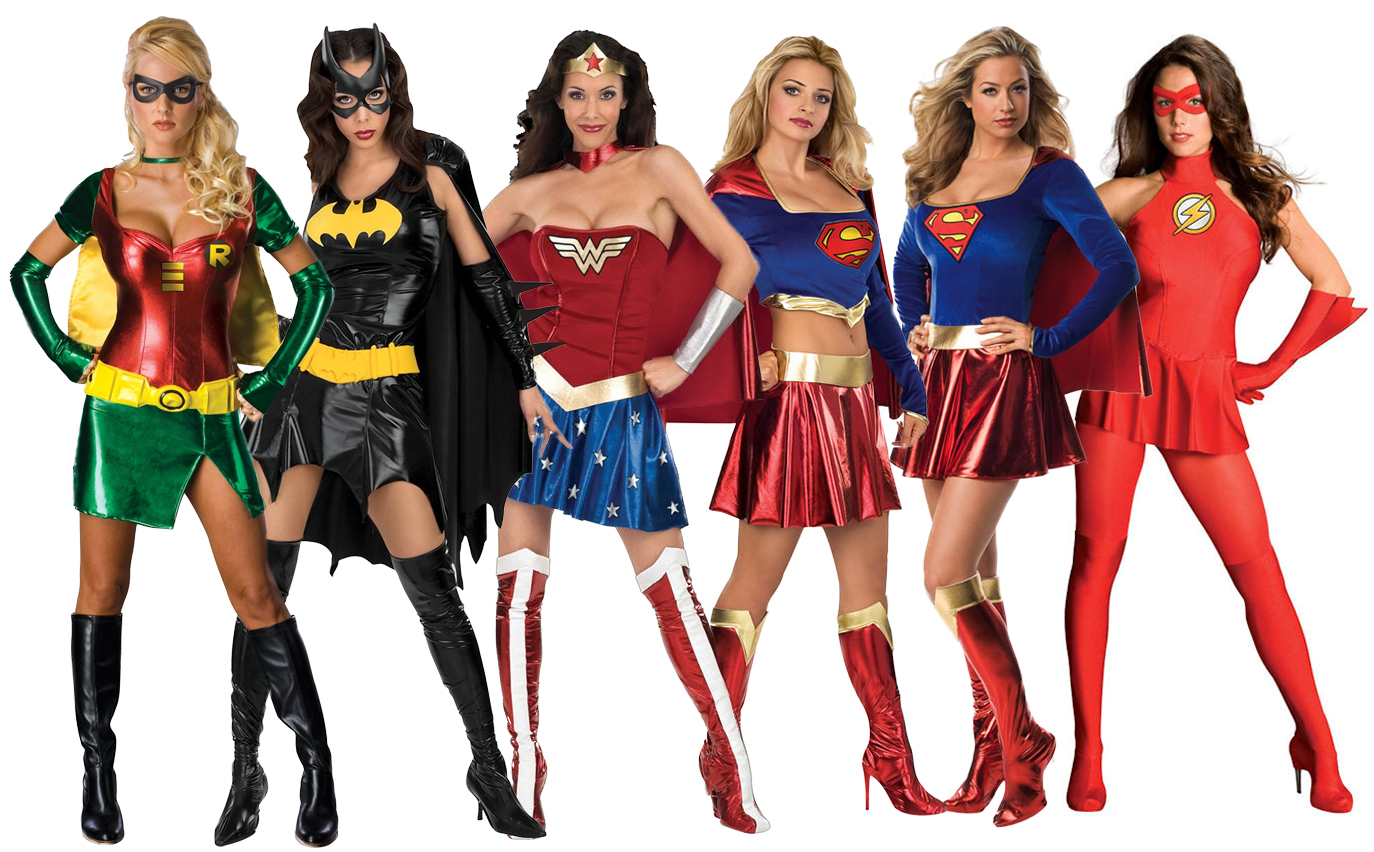Plus Size Superhero Halloween Costumes