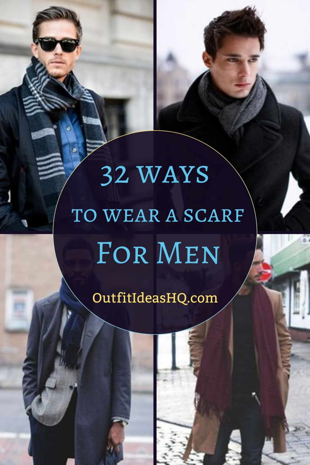 32 Masculine Ways To Wear A Scarf For Men Outfit Ideas Hq