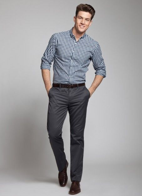 Button Up Shirt Style Inspirations To Make The Ladies