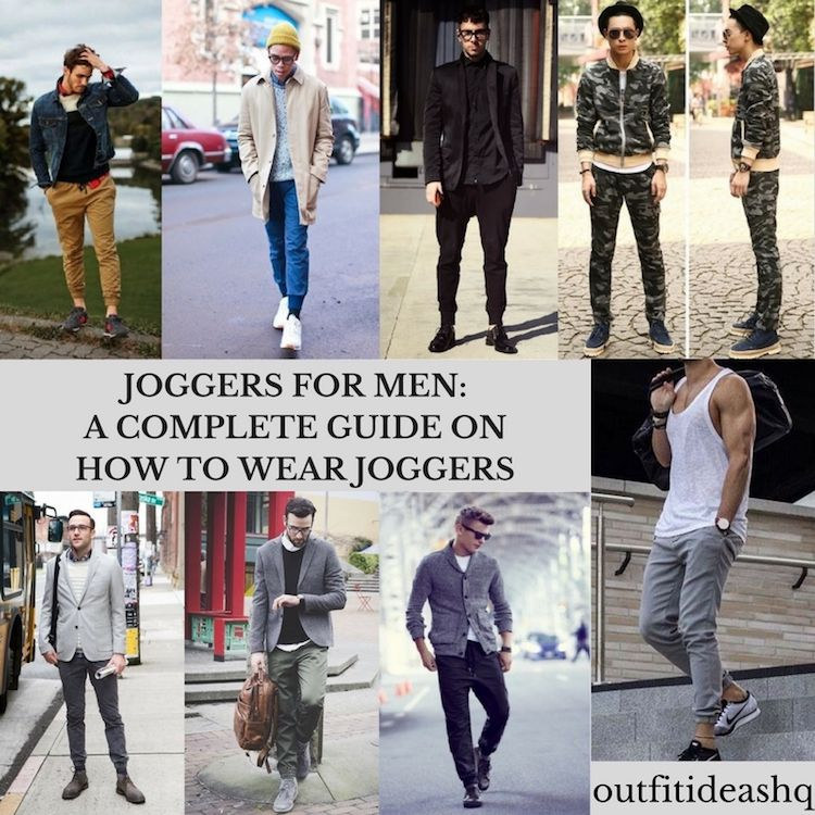 Joggers for Men A Complete Guide on How to Wear Joggers - Outfit Ideas HQ